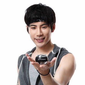 Image 2 - From xiaomi Youpin YunMai Powerball Carpal Training Apparatus Power Wrist Trainer LED Gyro Ball Essential Spinner Antistress Toy