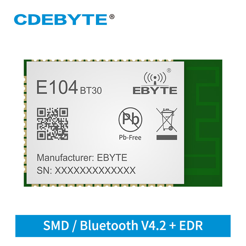 CSRA64215 Audio Bluetooth Module BLE V4.2 EDR 2.4GHz E104-BT30 Speaker Receiver Support APTX APTXLL ACC