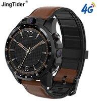 V9 4G inteligentny zegarek 3GB + 32GB Android 7.1 MTK6739 czterordzeniowy Smartwatch podwójny aparat 1.6 calowy pulsometr GPS zegarek z bluetooth w Inteligentne zegarki od Elektronika użytkowa na