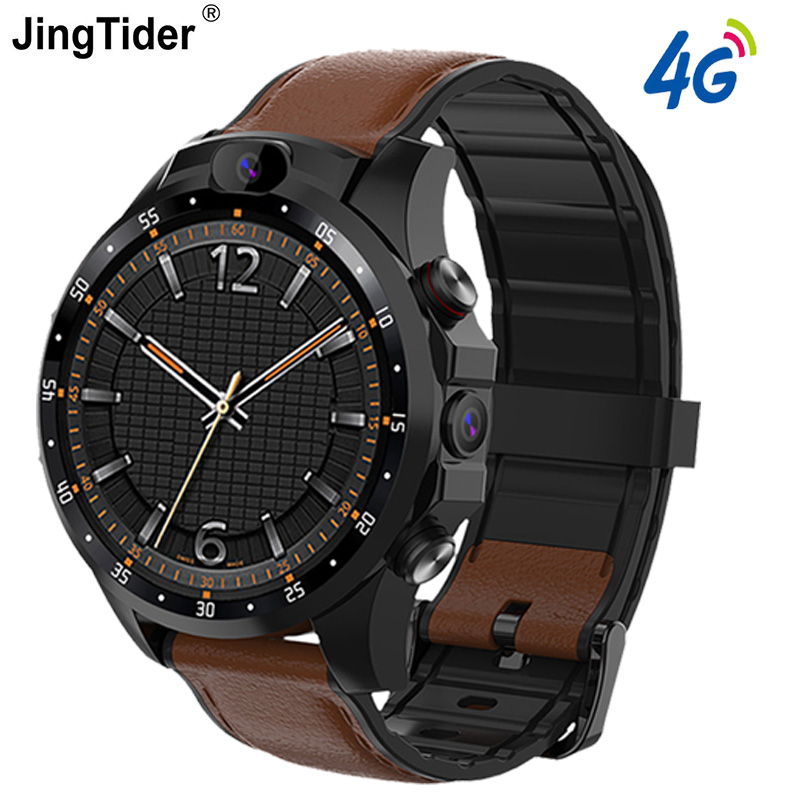 V9 4G Smart Watch 3GB+32GB Android 7.1 MTK6739 Quad Core Smartwatch Dual Camera 1.6 Inch Heart Rate Monitor GPS Bluetooth Watch
