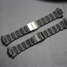 Watch Strap For Men Stainless Steel Wristband Metal Watch Strap Bracelet Replace For Casio G-shock  GW-A1100FC GW-A1000 casio gw 3500b