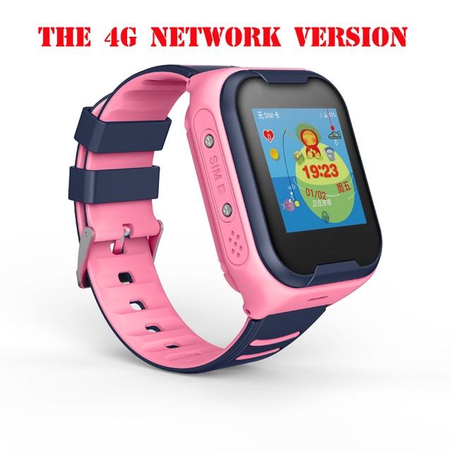 A36E 4G smart kids watch waterproof IPX7 Wifi GPS Video call Monitor Tracker clock Students Wristwatch kids children GPS watch 3