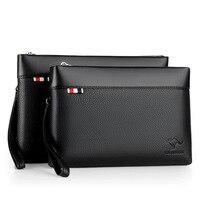 Kangaroo leather handbag manufacturer direct sales men handbag leisure envelope handbag cross border exclusive supply