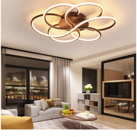 modern Simple LED ceiling lamp indoor lighting bedroom living room lamp round free shipping spot