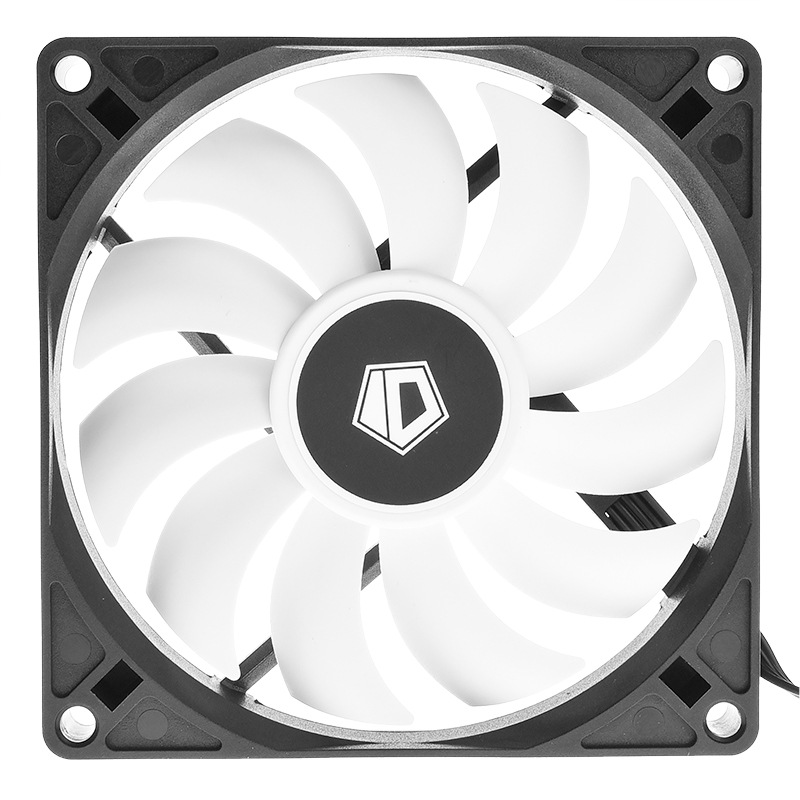 ID-Cooling 9015 15mm Smart Temperature Control Thin CPU Radiator Case Fan Support Is40