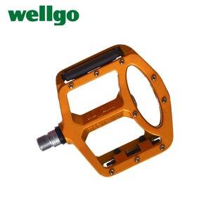Image 3 - Wellgo pedały MTB 2 uszczelnione łożyska pedały rowerowe do rowerów bmx górski rower szosowy pedały szeroki stop magnezu pedały rowerowe MG 1