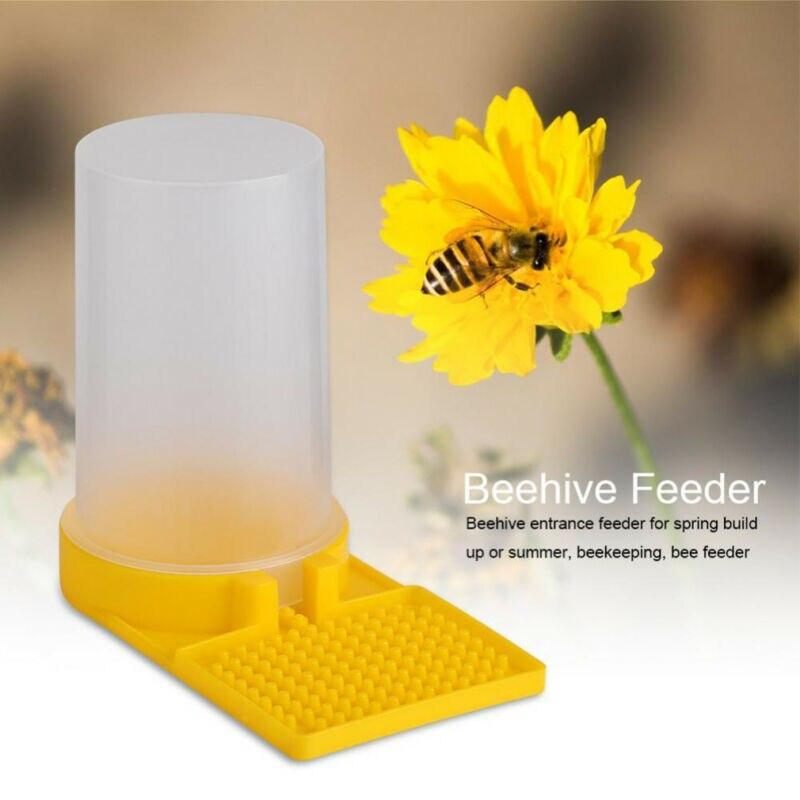 1 unidad de alimentador de abejas de plástico, tazón de bebedero para apicultura, colmena de agua, entrada alimentador de abejas, herramienta para beber Apicultura|Herramientas de apicultura|   - AliExpress