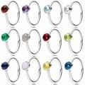 Аутентичные 925 Серебряное кольцо месяц в форме капель с украшением в виде кристаллов на день рождения кольцо для женщин Свадебная вечеринка...