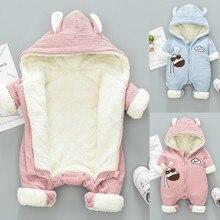 New Winter overalls for kids coat Baby Snow Wear Newborn Snowsuit Boy Warm Down Cotton Girl clothes Bodysuit 0-18M