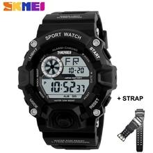 SKMEI New Digital Military Watch Men's Sports Chrono Alarm Waterproof Male Clock Wristwatches Strap For Gifts Relogio Masculino