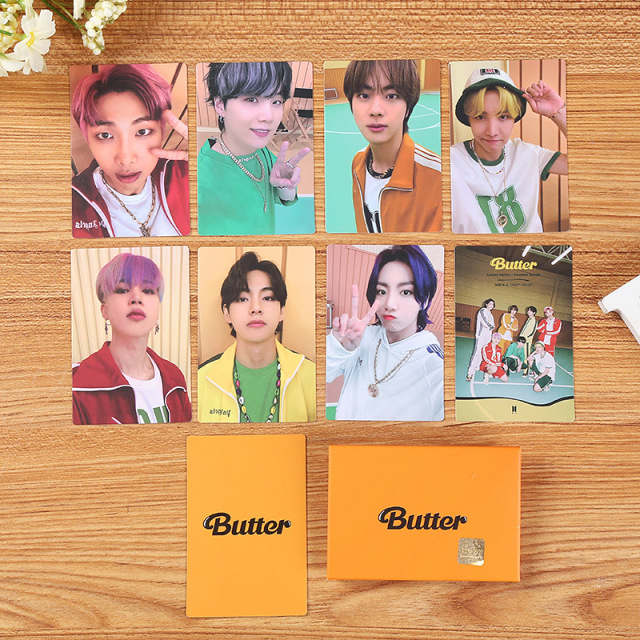 KPOP Bangtan Boys BUTTER Mini Photocard Weverse Shop Memebers LOMO Cards Premium Photos 4
