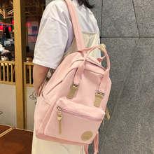 Fashion Waterproof Cute Backpacks Harajuku Women School Bags For Teenage Girls Lady Kawaii Nylon Backpack Luxury Bag Book Female