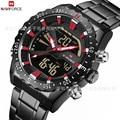 Naviforce Xiang 9136 мужские многофункциональные водонепроницаемые спортивные часы модные повседневные мужские часы