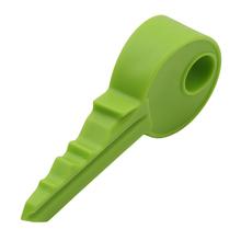 1 sztuk śliczne w kształcie klucza silikonowy ogranicznik do drzwi uchwyt dzieci dzieci osłonka zabezpieczająca ogranicznik do drzwi niemowlę ochraniacz na palce Home Decor tanie tanio Unisex Silicone CN (pochodzenie) W wieku 0-6m 7-12m 13-24m 25-36m Jednokrotnie załadowane Stałe cartoon WH997558 9 5*4*2cm