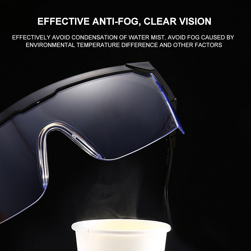 Image 5 - 99.9% Anti Virus Safety Goggles For Eyes Protection Windproof  Dustproof Resistant Transparent Glasses Protective Safety Eyes  -