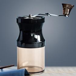 Retro ręczny młynek do kawy rdzeń ceramiczny przenośne młynek do kawy do kawy Spice młynek do kawy w Ręczne młynki do kawy od Dom i ogród na
