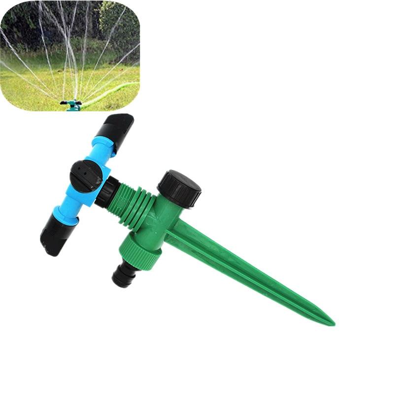 Lawn Sprinkler On Spike Automatic 360 Rotating Garden Water Sprinklers Lawn Irrigation irrigation sprinkler Garden Spray