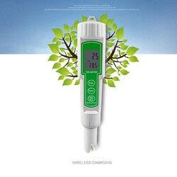 Zintegrowany miernik PH długopis LCD podwójny wyświetlacz miernik TDS wody Instrument jakości wody w akwarium analizator jakości długopis testowy