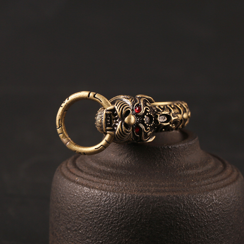 dragon keyrings vintage (6)
