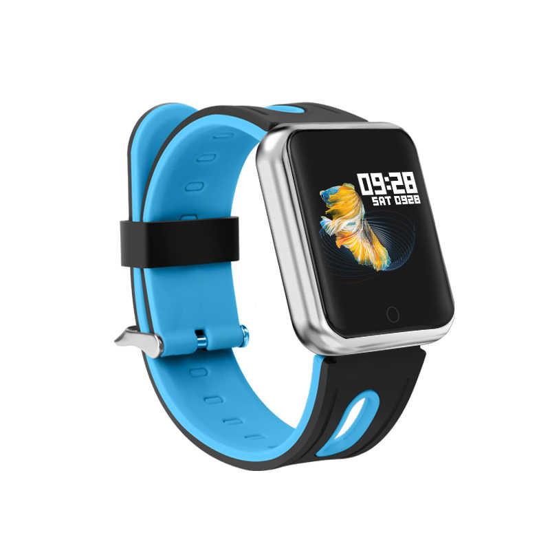 Reloj inteligente deportivo IP68 P68 pulsera de fitness rastreador de actividad monitor de ritmo cardíaco presión arterial para ios Android apple iPhone 6 7