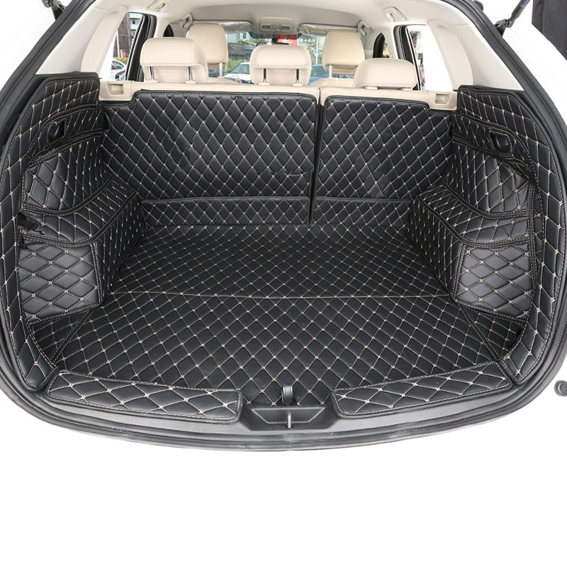 Lsrtw2017 voor mazda cx-5 cx5 2017 2018 2019 2020 lederen auto kofferbak mat lijnvervoer waterdicht duurzaam boot accessoires