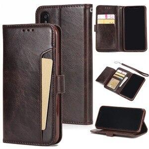 Кожаный чехол с откидной крышкой для iPhone 5, чехол-бумажник для iPhone 5, 6, 6S, 7, 8 Plus, X, XR, Xs Max, 11, 11 Pro, Max, слоты для карт, чехол для телефона