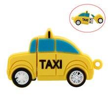 Unidad Flash USB para Taxi, 64, 32, 8, 4, 16, 128 gb, Pendrive usb 2,0, dibujos animados, regalos personalizados, 256GB, 128 GB, 4GB, chiavetta
