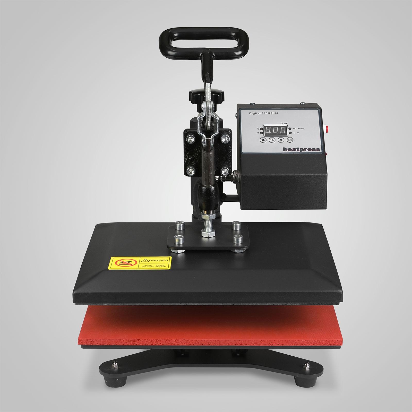 Digital Transfer Swing Away Heat Press Machine 12