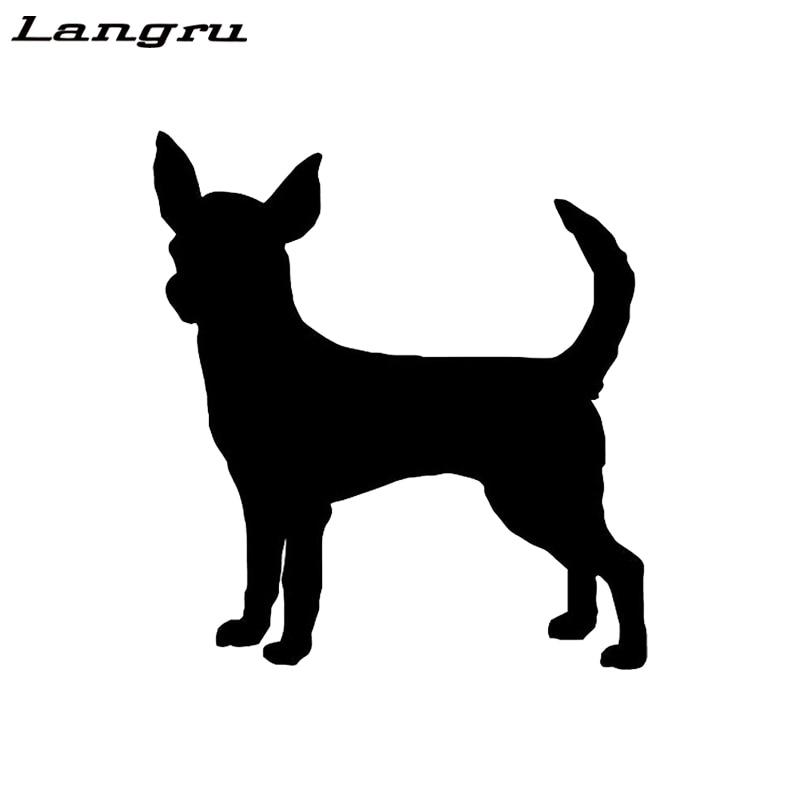 Funny CHIHUAHUA Dog Vinyl Car Van Decal Sticker Pet Animal Lover