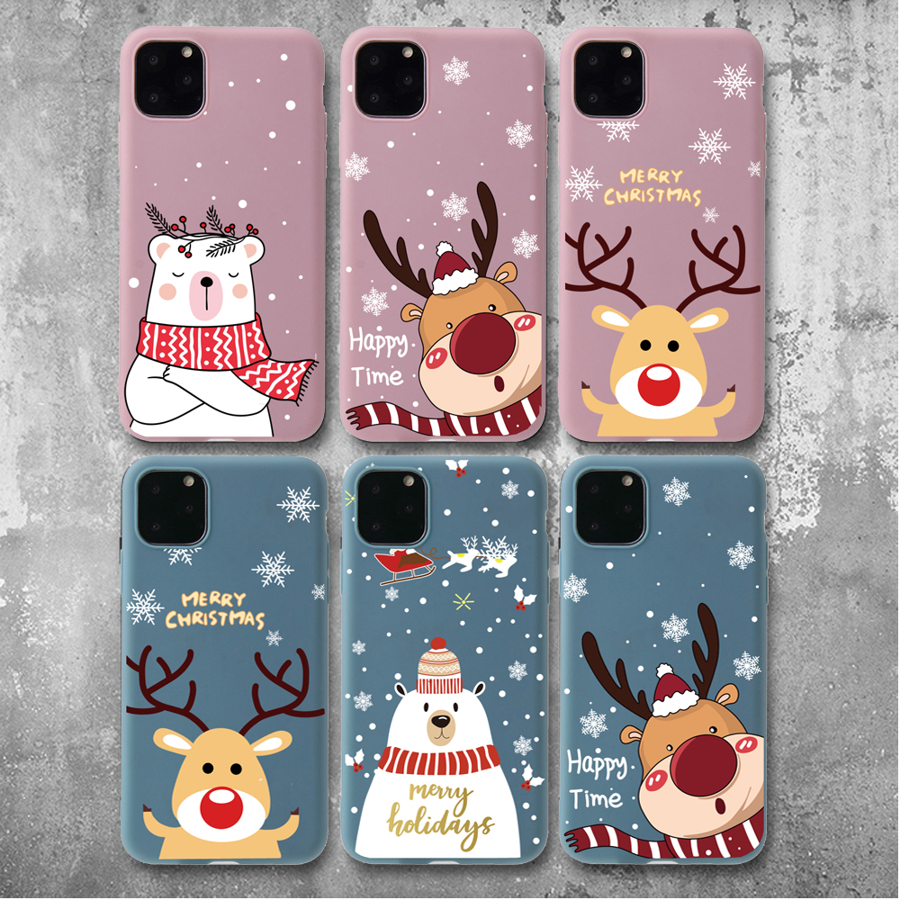 Christmas New Year Santa Claus Case For iPhone 12 Pro Max
