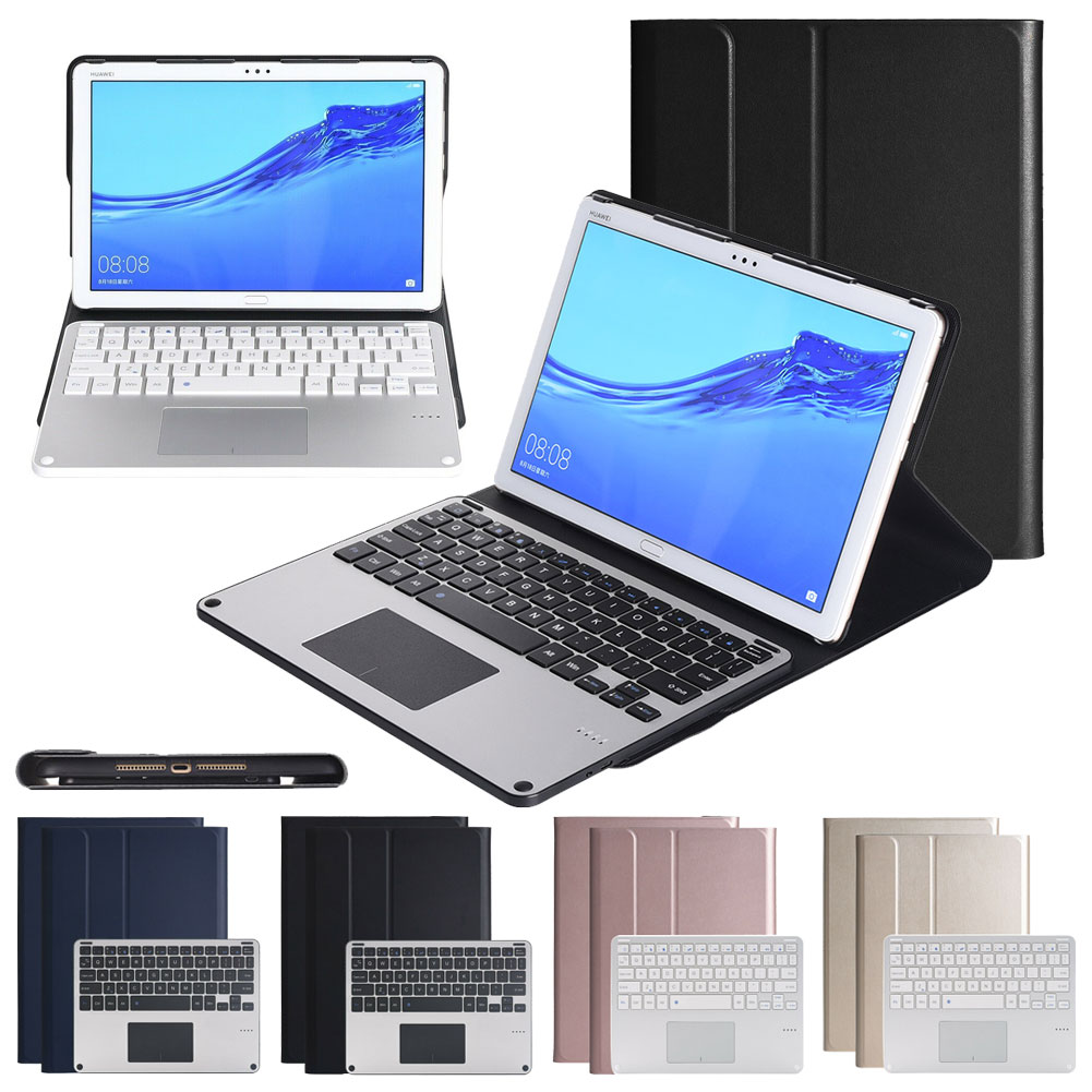 """Shockproof Keyboard Case For Huawei Matepad Pro 10.8 Folding PU Leather Stand Protector Cover For Huawei MatePad Pro 10.8"""" 2019"""