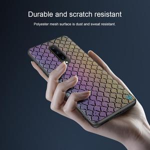 Image 5 - for Oneplus 8 Pro Twinkle Case NILLKIN Textured Nylon Fiber Luxury Durable Non slip Full Cover Polyester Case for One Plus 8 Pro