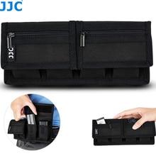 Batterie Pouch Speicher Karte Fall Halter Storage für 18650 SD CF XQD für Nikon D7500 D7100 D850 D810 D500 D750 d610 D800 D800E D600
