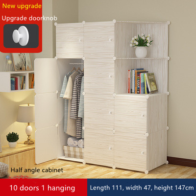 A new type of modern wardrobe with healthy and environment friendly resin material