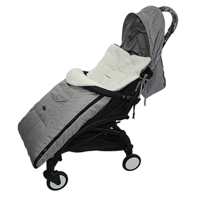 Enveloppe sac de couchage pour bébé, chaude et épaisse dans la poussette, pouf universel, tablier confortable
