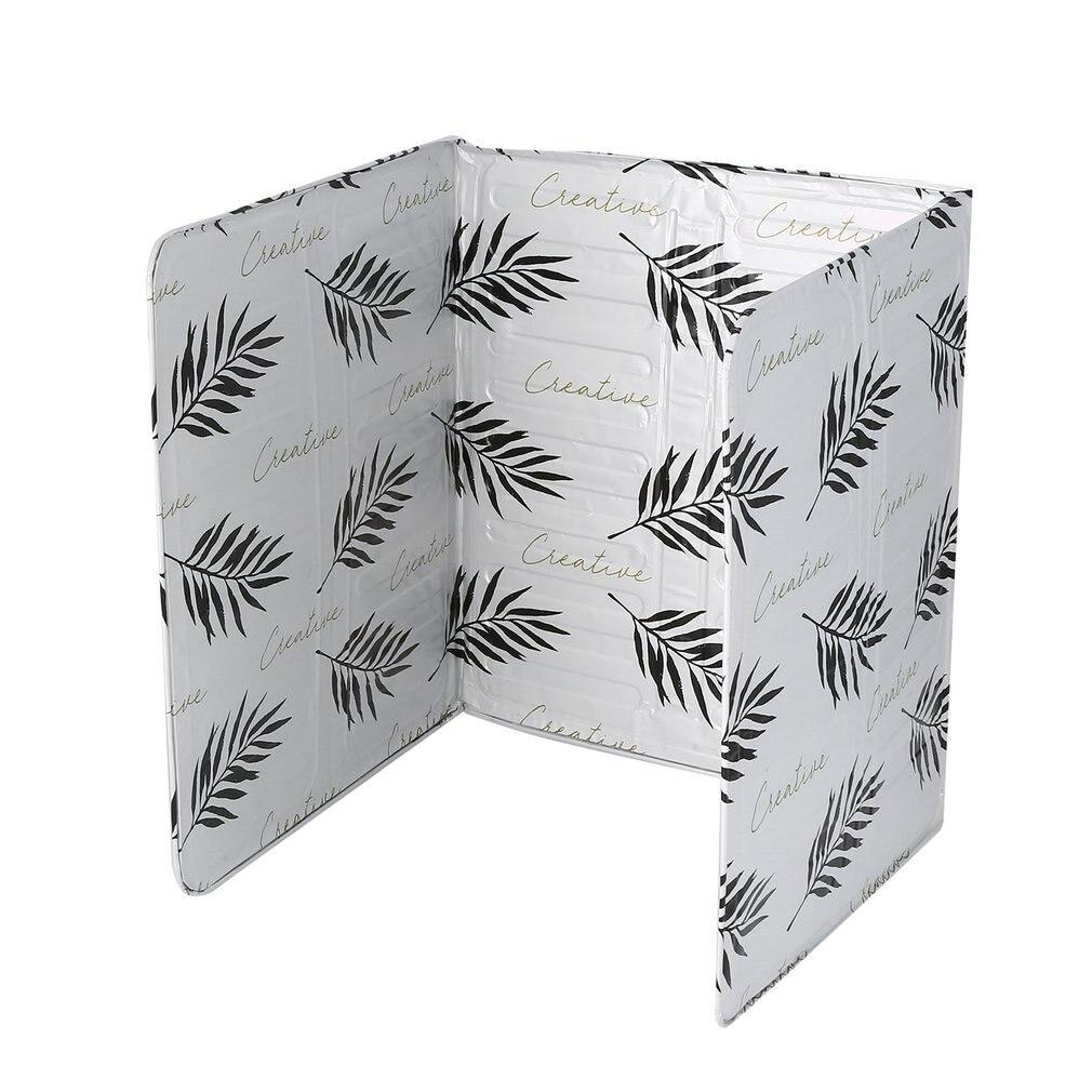 Oil Aluminium Foil Plate Gas Stove Oil Splatter Screens Kitchen Tools Cooking Insulate Splash Proof Baffle Kitchen Plate