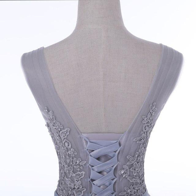 Pregnant plus women communion dresses Long Dress Evening Dress prom party Robe De Soiree beads lace pleat neck robe de soiree 6