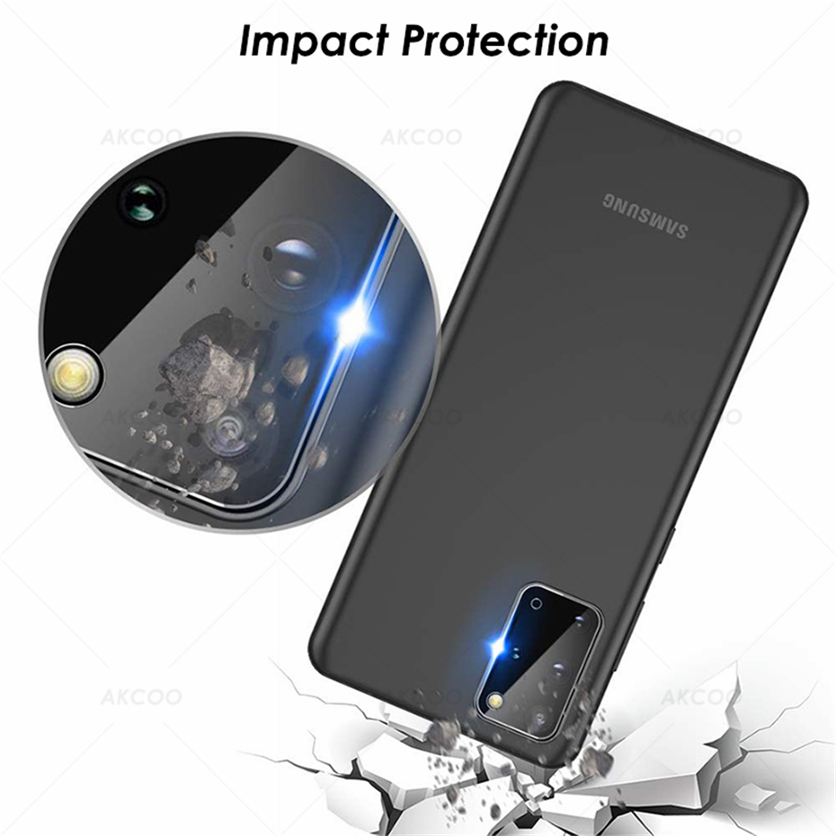 Akcoo S20 Anti-Scratch Flexible Glass Camera lens Protector HD Transmittance for Samsung Galaxy S20 Plus Camera 11