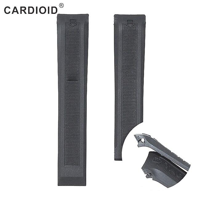 20mm bracelet en caoutchouc de silicone pour étiquette montre CALIBRE 5 AQUARACER bracelet de plongée sport étanche montre ceinture bracelet accessoires
