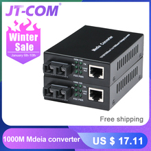 1000M FTTH Fiber Optic Media Converter SC Single M