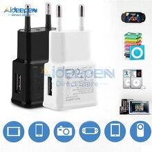Универсальное зарядное устройство USB 5 В, 2 А, для ЕС/США, настенный адаптер питания для мобильного телефона, зарядное устройство для iPhone, samsung, Xiaomi, huawei, iPad