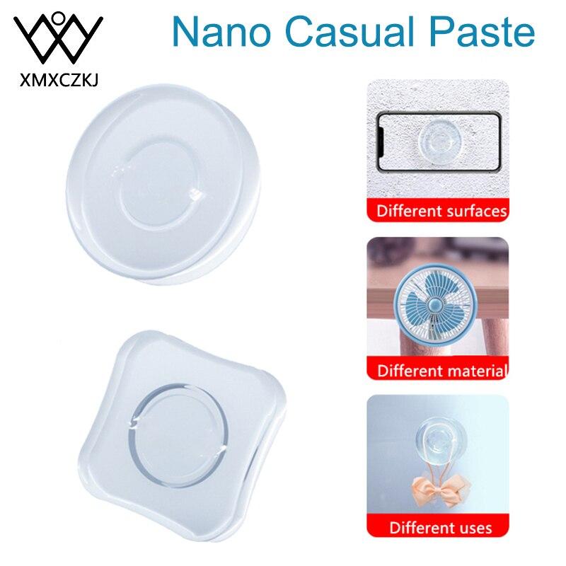 Universal Magic Nano Stickers No Trace Magic Nano Casual Paste Rubber Pad Wall Stickers Strong Adsorption Desk Sticker Gel Paste