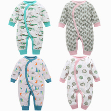 Baby clothing 2019 new Born Clothes Newborn 3-18 Month Girl Boys Romper 100% Cotton Costume Brand