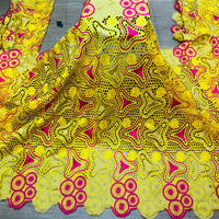 African Voile Lace Fabric 2020 High Quality Lace Punch Embroidery Dry Cotton Lace Fabric Swiss Voile Lace With Stones ! HL72529