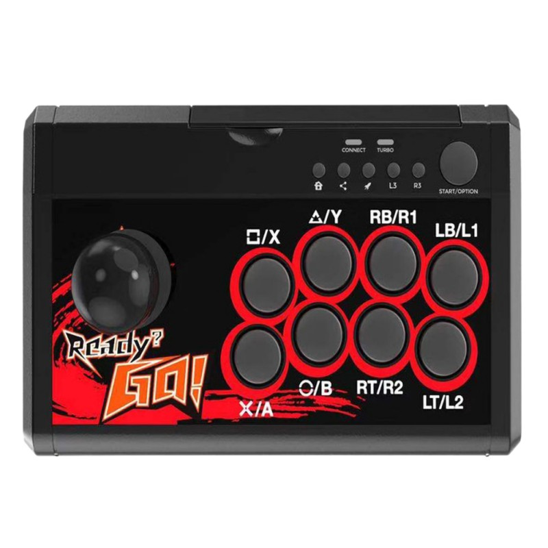 Manette à bascule USB contrôleur de jeu manette d'arcade combat Ara pour Swtich/PS3/PC/Android 4 en 1 manette de combat d'arcade - 5