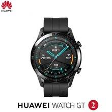 Original HuaweiนาฬิกาGT2 GT 2 สมาร์ทนาฬิกาBluetooth Smartwatch 5.1 14 วันอายุการใช้งานแบตเตอรี่โทรศัพท์หัวใจสำหรับandroid IOS