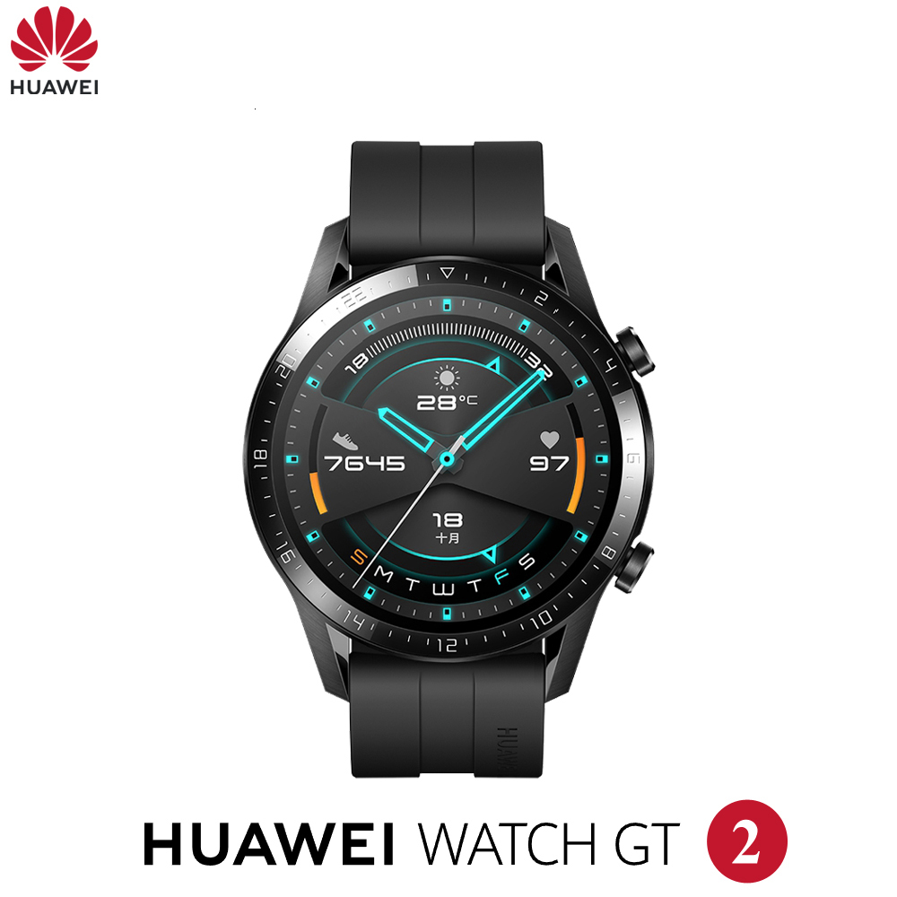 Original <font><b>Huawei</b></font> <font><b>Watch</b></font> GT2 <font><b>GT</b></font> <font><b>2</b></font> Smart <font><b>watch</b></font> Bluetooth Smartwatch 5.1 14 Days Battery Life Phone Call Heart Rate For Android iOS image