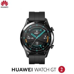 Image 1 - Originale Huawei Orologio GT2 GT 2 Astuto della vigilanza di Bluetooth Smartwatch 5.1 14 Giorni La Durata Della Batteria Del Telefono Chiamata Frequenza Cardiaca Per android iOS