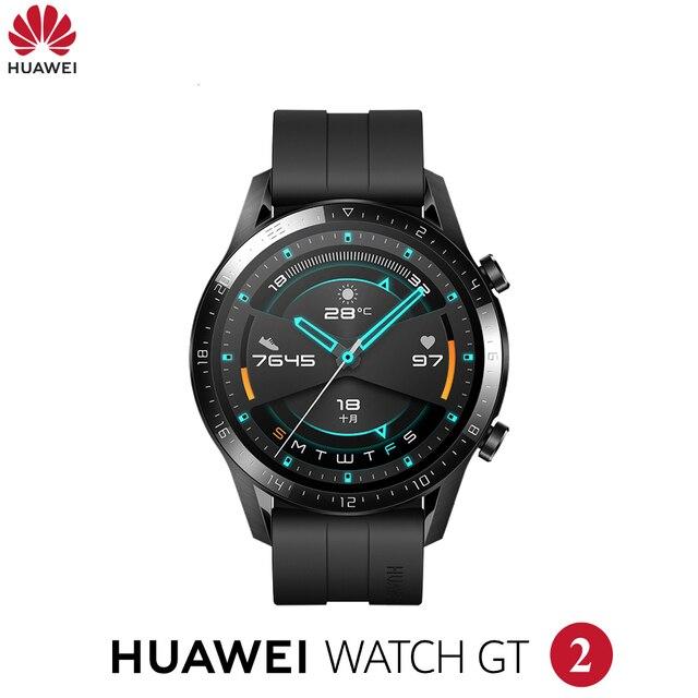 Originale Huawei Orologio GT2 GT 2 Astuto della vigilanza di Bluetooth Smartwatch 5.1 14 Giorni La Durata Della Batteria Del Telefono Chiamata Frequenza Cardiaca Per android iOS