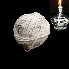 1M alcohol lamp cotton wick Pure cotton Resistant to burning for Kerosene lamp torch oil wine bottle laboratory Alcohol Wick